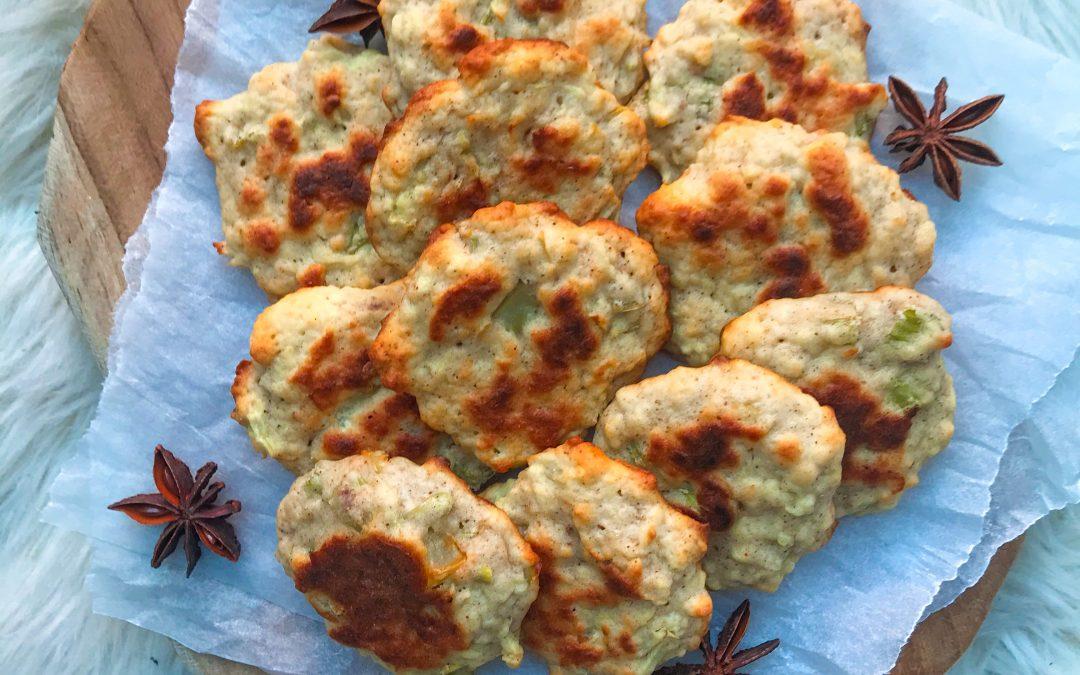 Selerowo-cynamonowe ciasteczka