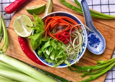 Zupa Pho Bo z selerem naciowym