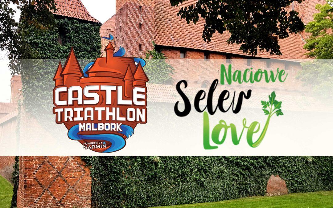 Selerowa strefa na Malbork Castle Triathlon 2019