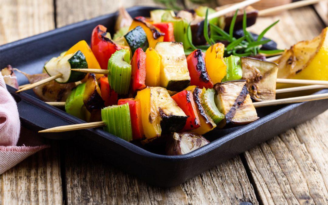 z cyklu wege: Grillowanie po wegeteriańsku: seler naciowy i inne warzywa na grilla